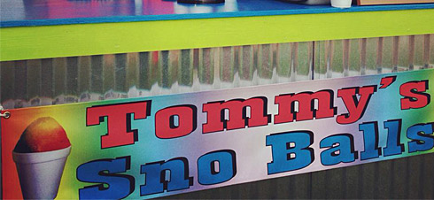 Tommy's SnoBalls at Navarre Family Watersports