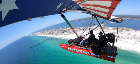 Fly The Boat - Floatplane rides in Navarre, Florida